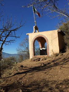 Shrine above Ajijic
