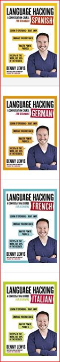 Benny Lewis' Language Hacking: A Conversation Course for Beginners